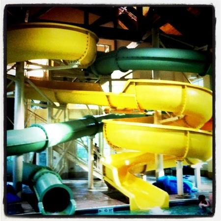 Hampton Inn & Suites North Conway: water slides