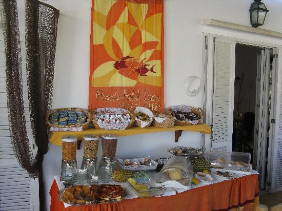 Piccolo Hotel Luisa: Gustosissima imperdibile colazione
