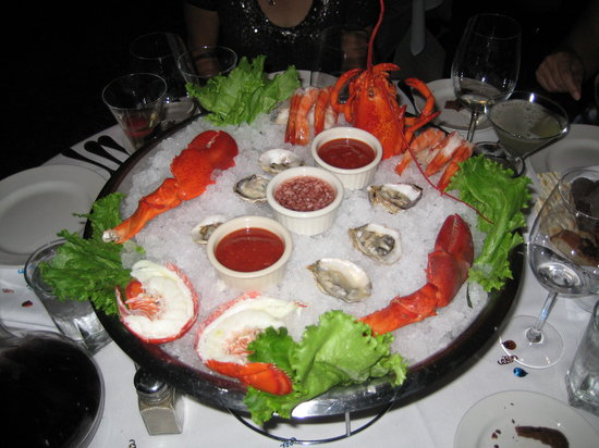 Costa Mesa, Californien: Seafood appetizer