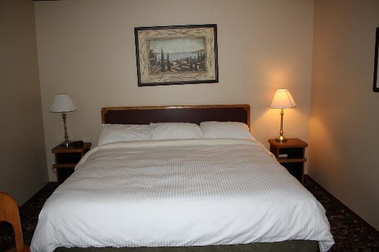 Creston, Canadá: King bed