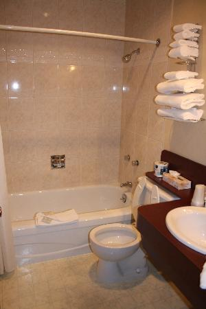 Creston Hotel: bathroom