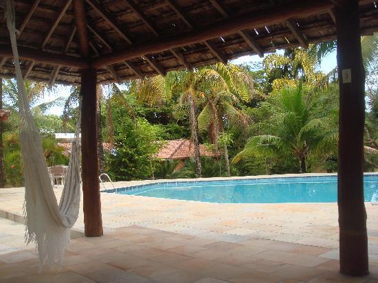 Pousada Jacaranda: Descanso numa rede não é sonho só do baiano!