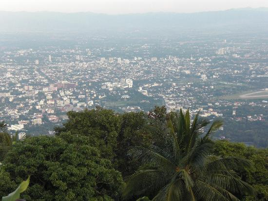 Holiday Garden Hotel: Vista panoramica della città