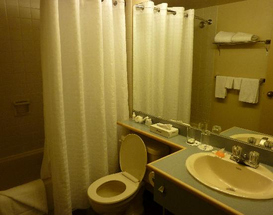 Coast Vancouver Airport: bathroom