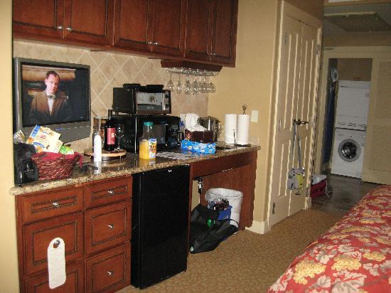 Vino Bello Resort: kitchenette in studio