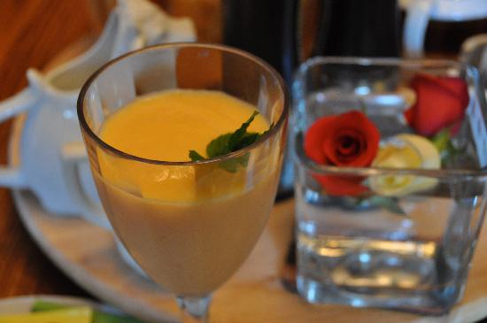 Wine Country Bed & Breakfast: Start each morning with a Smoothie