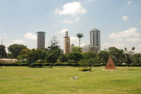 Uhuru Gardens Memorial Park: View of Nairobi