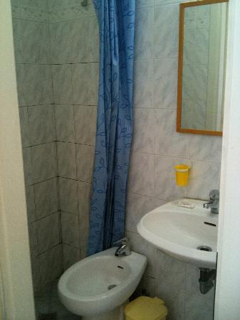 Hotel Aldobrandini: WC