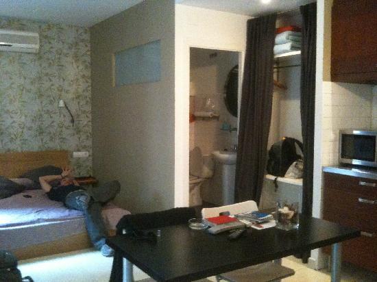Freestanza Accommodation : interio