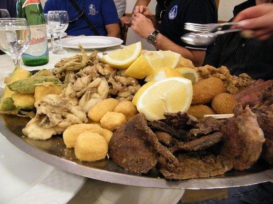 Cercenasco, Italia: fritto salato