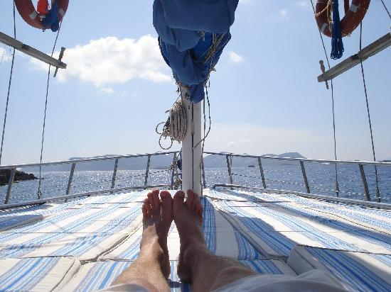 Time to relax - Picture of Boat Trips by Captain Ergun, Kas - TripAdvisor
