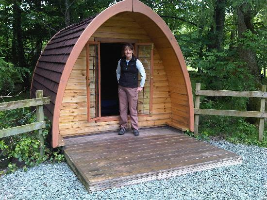 Great Langdale, UK: our pod!