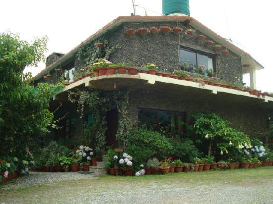 Cedar Lodge: cottage front