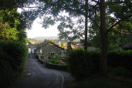 Wynford Guest House: View from the top of Nook Lane