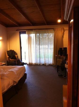 Hunter Valley Resort: inside vineyard room