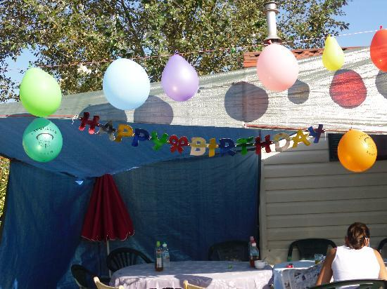 Camping Marelago : Geburtstag