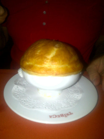 Tribeca Restaurante - Brasserie: Unbelievably good crab soup