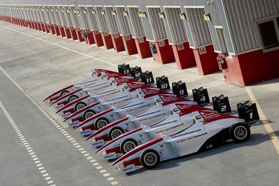 Dubai Autodrome : Single Seater Fleet