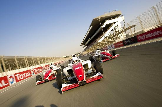 Dubai Autodrome : On the straight
