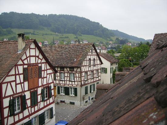 Stein am Rhein, สวิตเซอร์แลนด์: vista desde nuestra habitación