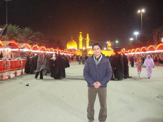 Iraq : Karbala, mausoleo di Abbas