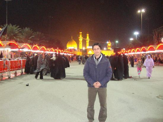 Irak: Karbala, mausoleo di Abbas
