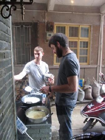Sishuinianhua Inn : cooking