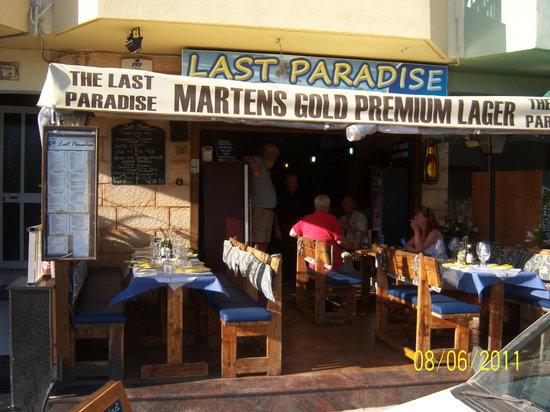 Last Paradise Bar & Restaurant : Last Paradise