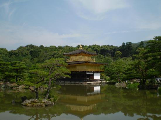 Kyoto Prefecture, Japón: templo dorado 2