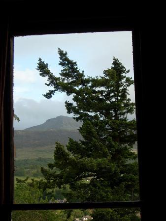 Penycoed Hall: the view at Cadair Idris