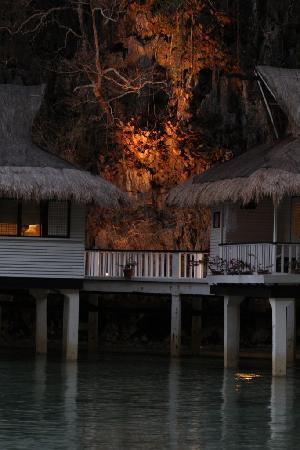 El Nido Resorts Miniloc Island: water villa