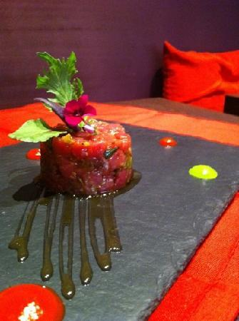 tartare de filet mignon de porc ib rique photo de le poivre d 39 ane aix en provence tripadvisor. Black Bedroom Furniture Sets. Home Design Ideas