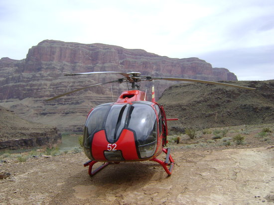 Papillon Grand Canyon Helicopters: Our helicopter