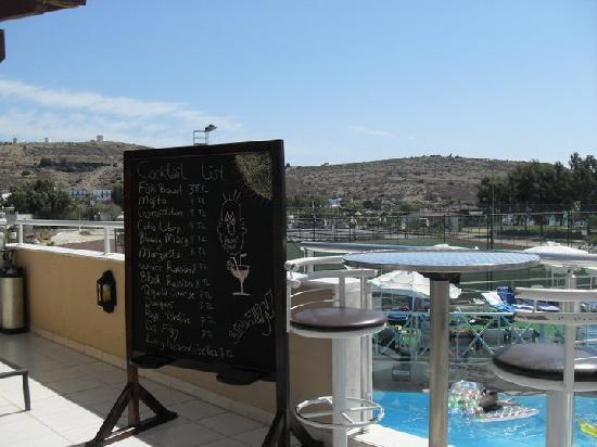 Eken Resort Hotel: vue terrase