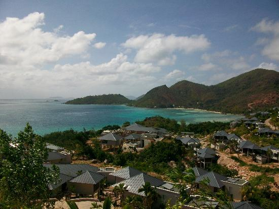Raffles Seychelles: View of resort