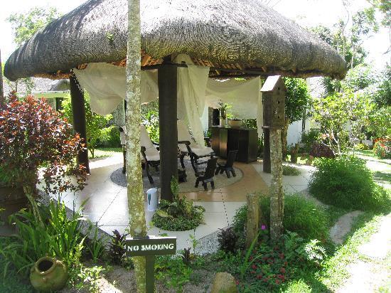 Nurture Wellness Village: Beautiful, well-tended surroundings.