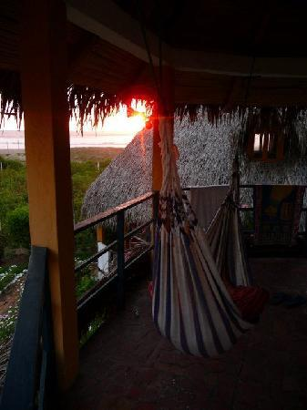 Las Tunas, Ecuador: relaxing in the sunset