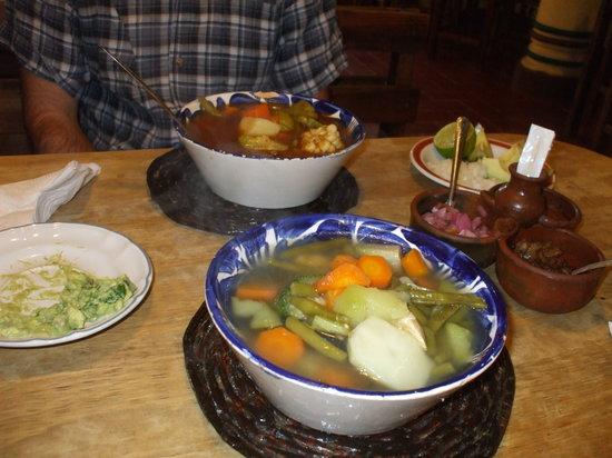 El Caldero : le nostre gustosissime zuppe
