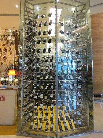 Floor To Ceiling Wine Rack Picture Of Novotel Citygate Hong Kong