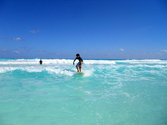 360 Surf School: Hector's 1st Wave!!!