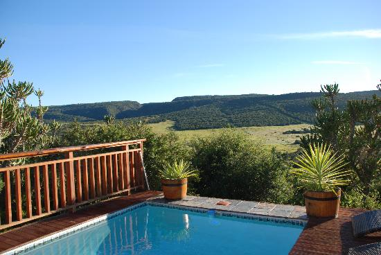 Addo Afrique Estate: A view from the deck