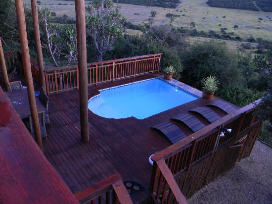 Addo Afrique Estate: A view from the bedrooms upstairs