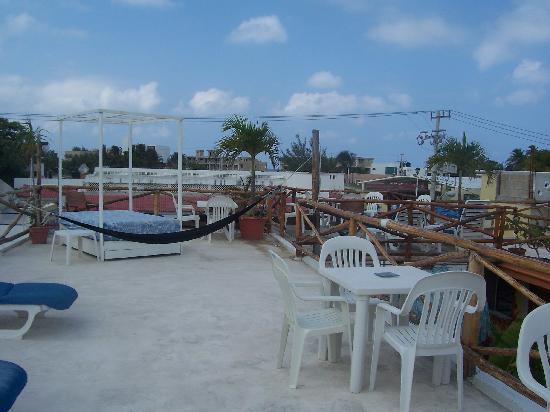 Hotel Las Palmas: Roof