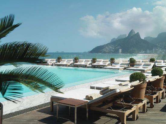 Hotel Fasano Rio de Janeiro: pool view