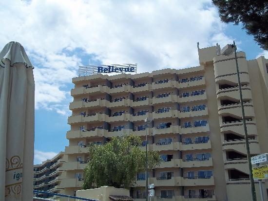 Map Of Belle Vue Appartments Picture Of Bellevue Club Port D Alcudia Tripadvisor
