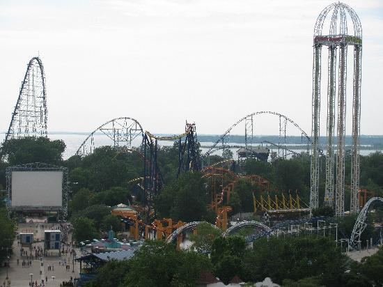Cedar Point Vergnügungspark: The park with a birds eye view