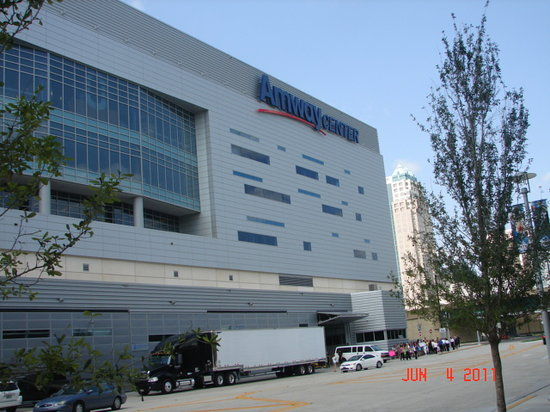 Amway Center : Outside View