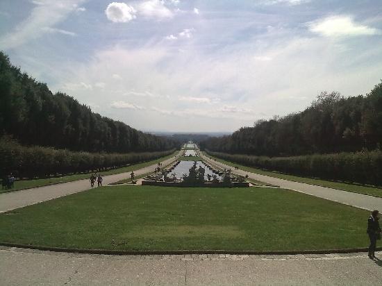 La Reggia di Caserta: Caserta gardens