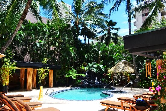 Aqua Bamboo Waikiki Pool