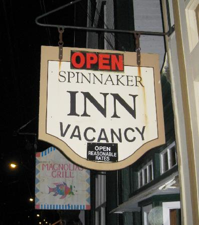 Spinnaker Inn Sign